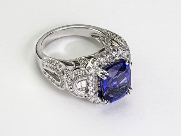 Recently Sold Gorgeous Tanzanite Ring