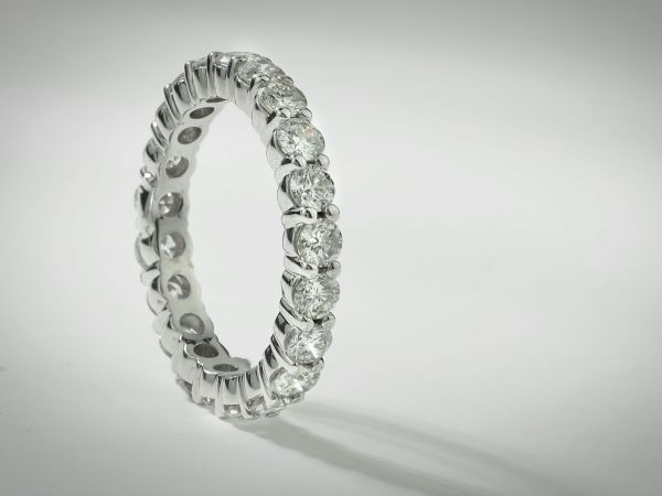 14kt White Gold Diamond Eternity Ring